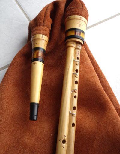 boha ou cornemuse des landes de Gascogne de l'atelier Neofactlandes