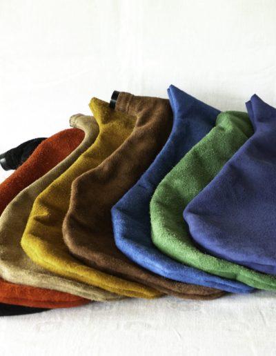 poche de boha ou cornemuse de landes de Gascogne de l'atelier de facteur d'instrument a vent Neofactlandes